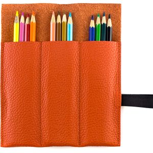 Faulenzer-Etui Derby Fashion orange